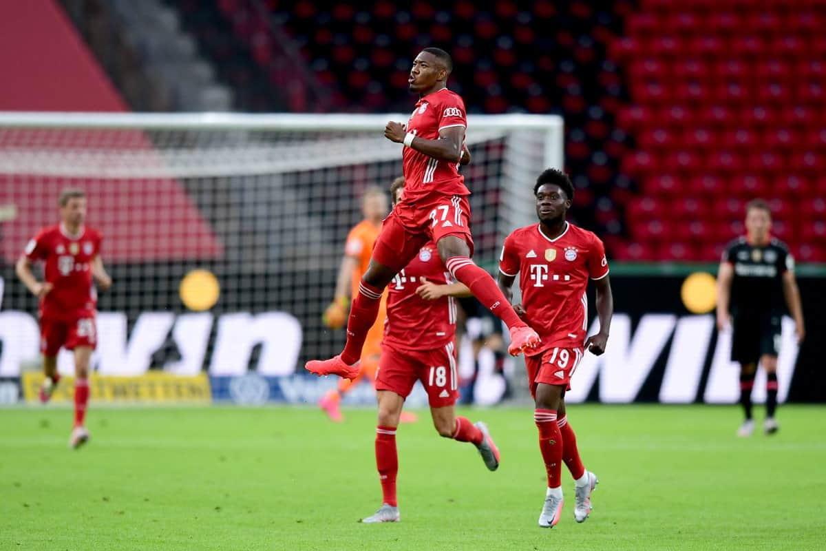 Bayern Munich are German Cup Champions