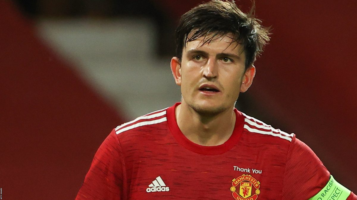 Harry Maguire in action for Manchester United (Image - Getty Images)