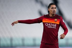Chris Smalling in action for Roma