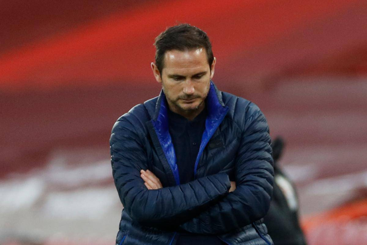 Frank Lampard during Chelsea game