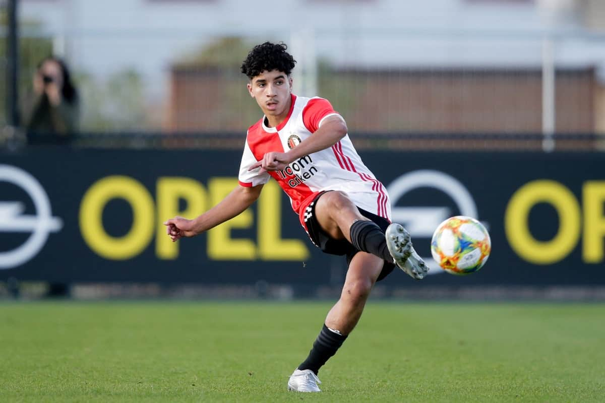 Salah-Eddine in action for Feyenoord