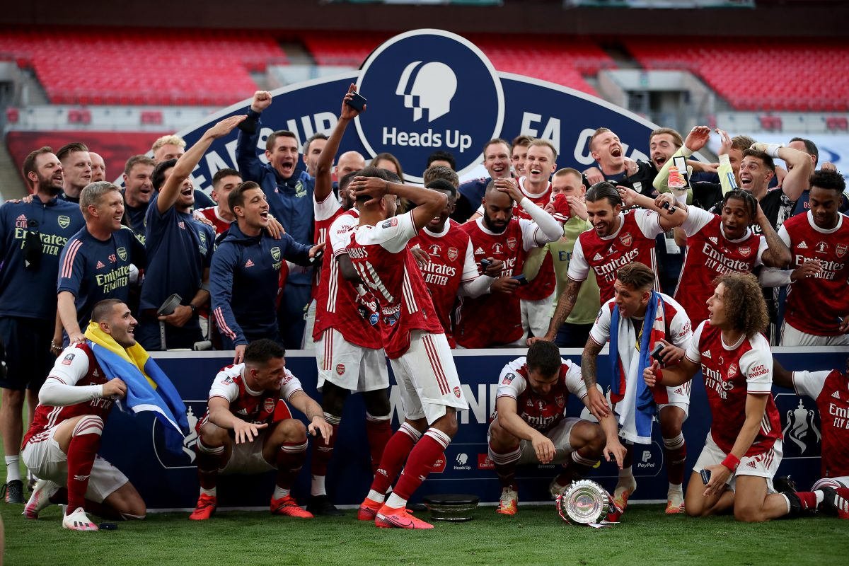Arsenal won the FA Cup for a record 14th time