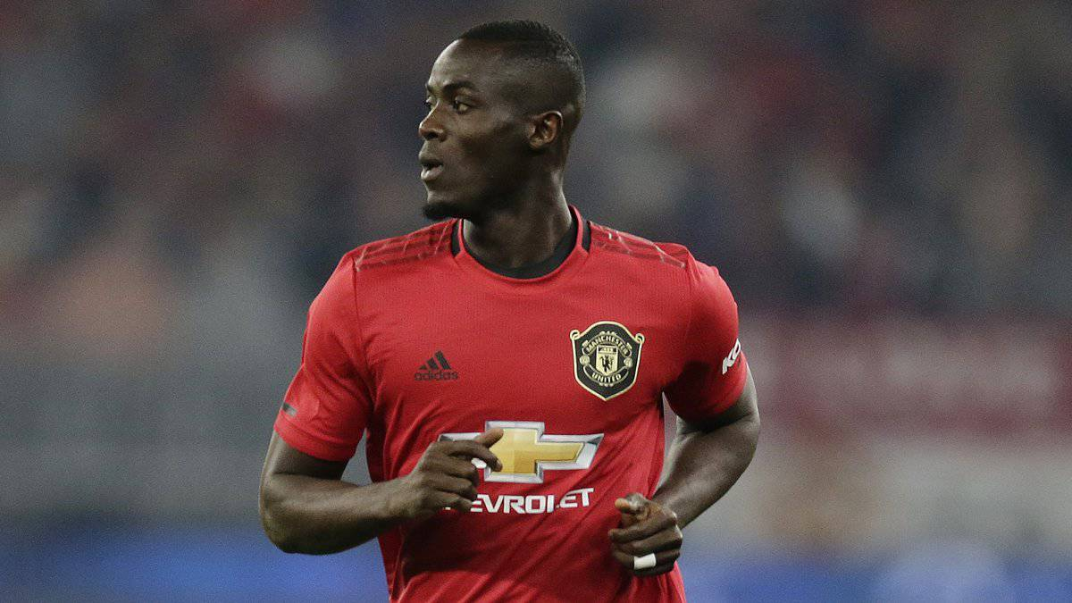 Eric Bailly in action for Manchester United
