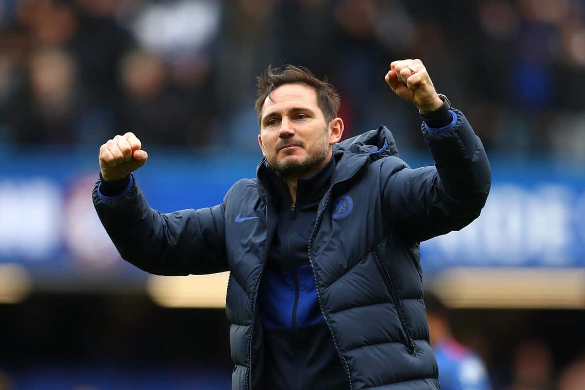 Frank Lampard during Chelsea match