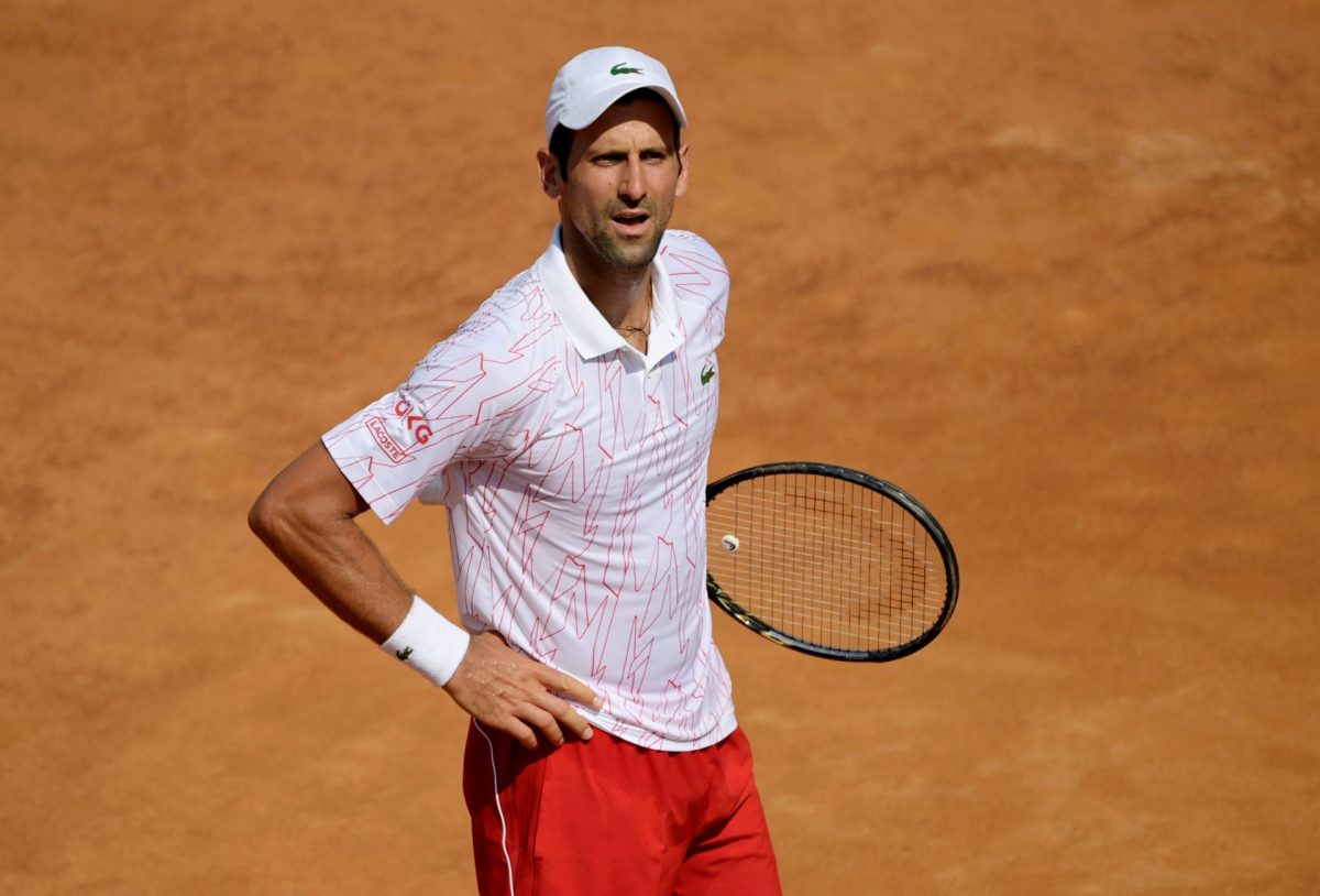 Novak Djokovic 'very pleased with how he handled himself' after returning to winning ways in Rome