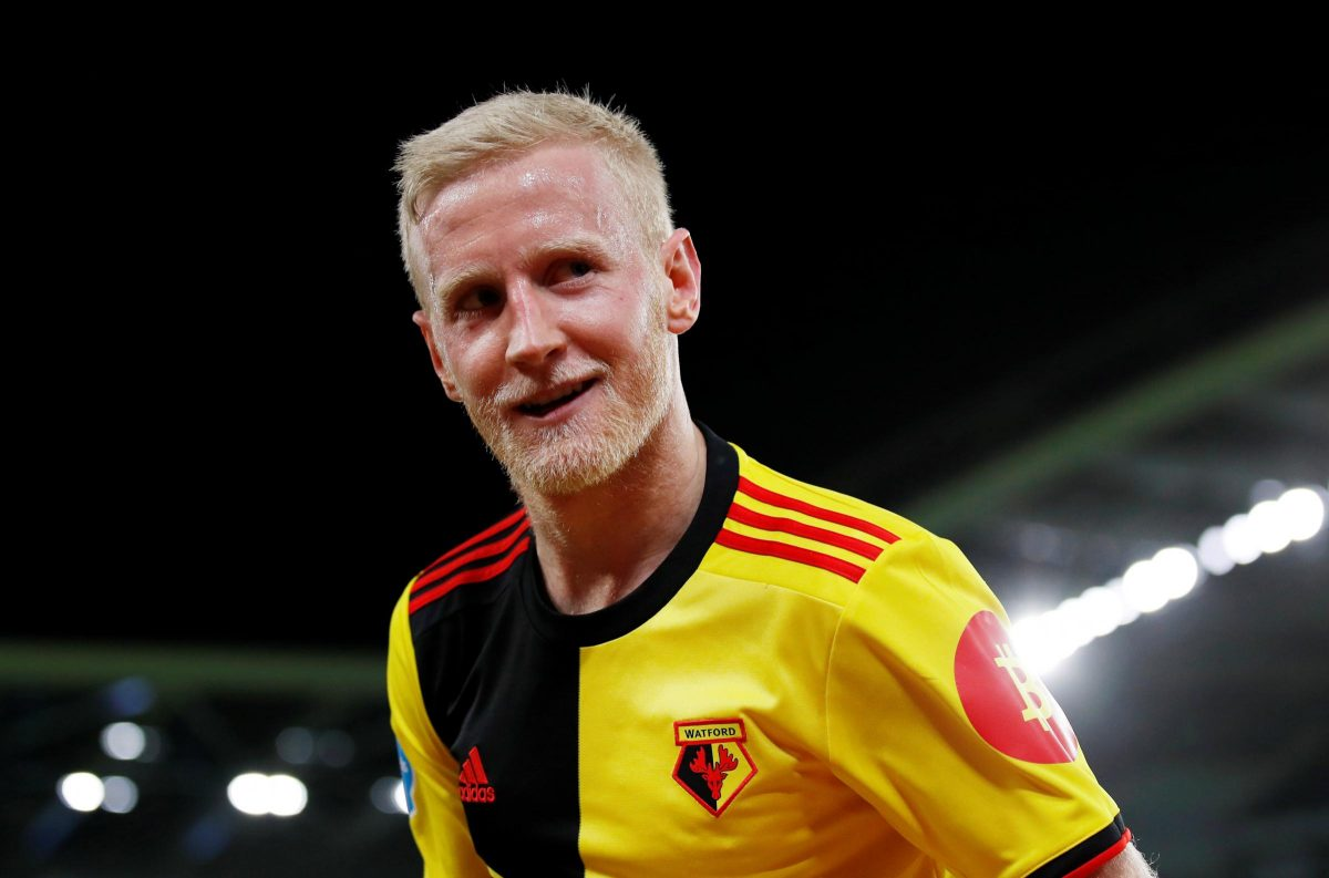 Will Hughes in action for Watford