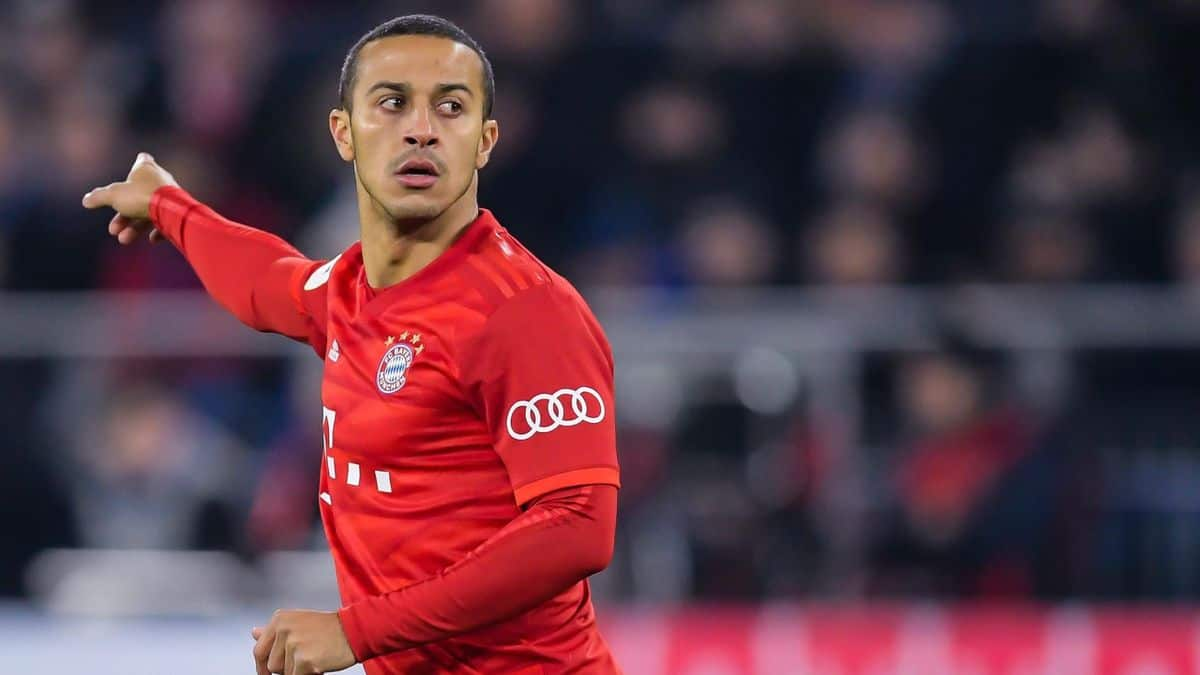 Thiago is close to joing Liverpool