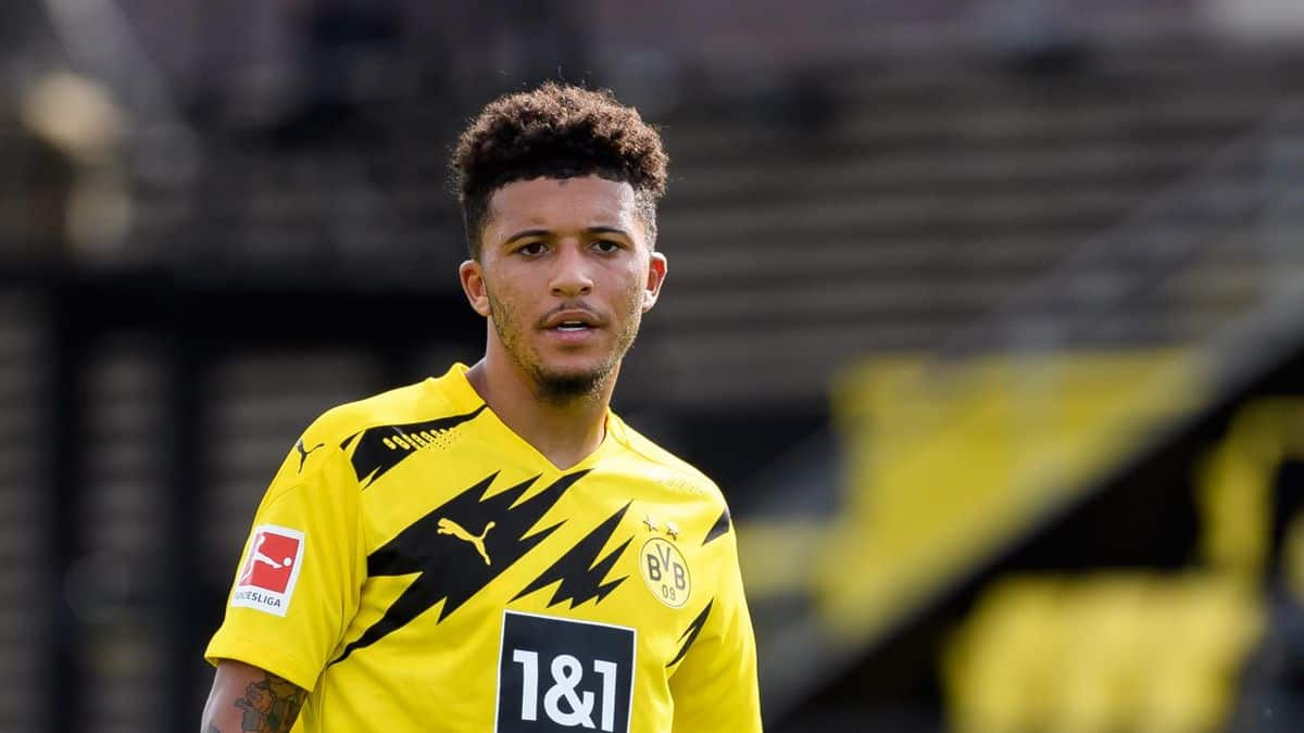 Jadon Sancho is close to moving to United