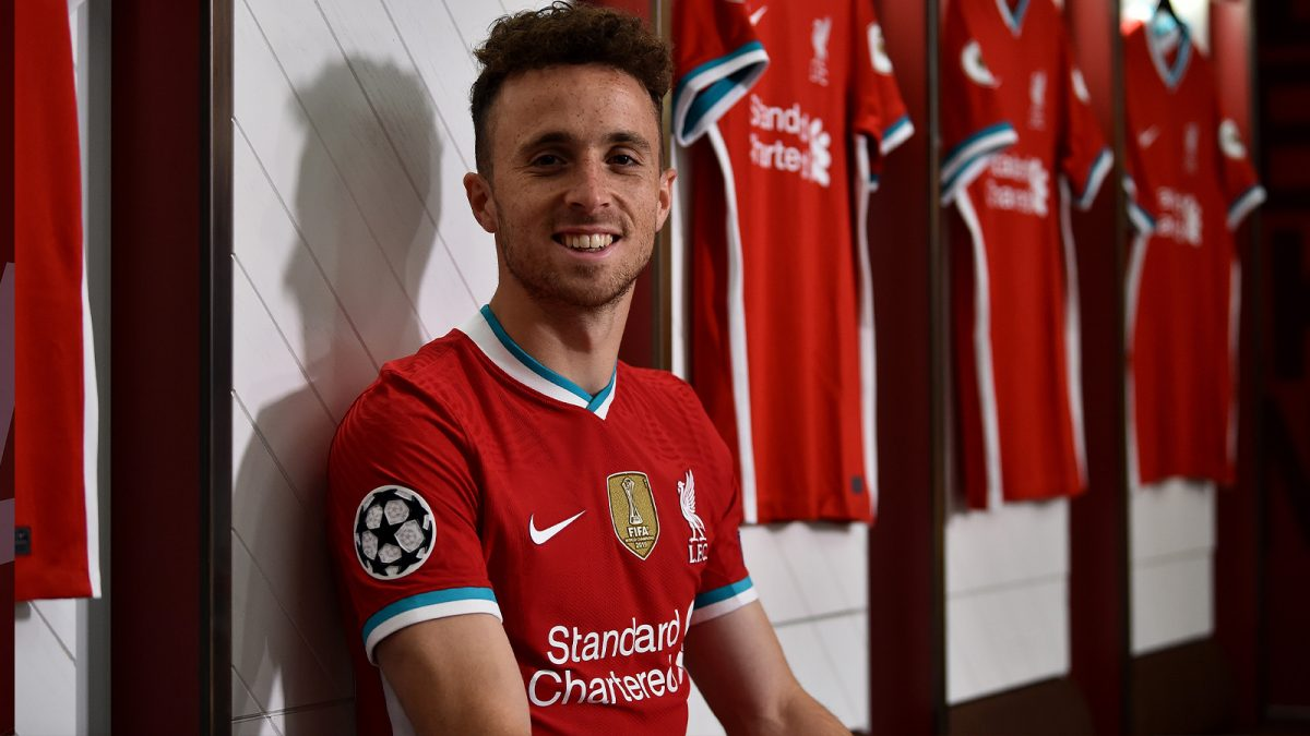 Diogo Jota moves to Anfield