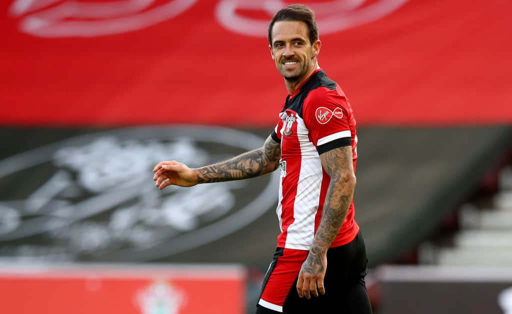 Danny Ings in action for Southampton
