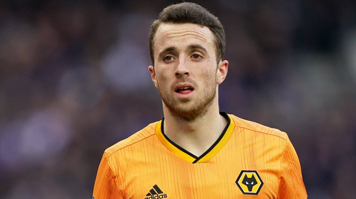 Diogo Jota in action for Woves