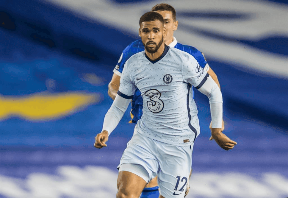 Ruben Loftus-Cheek in action for Chelsea