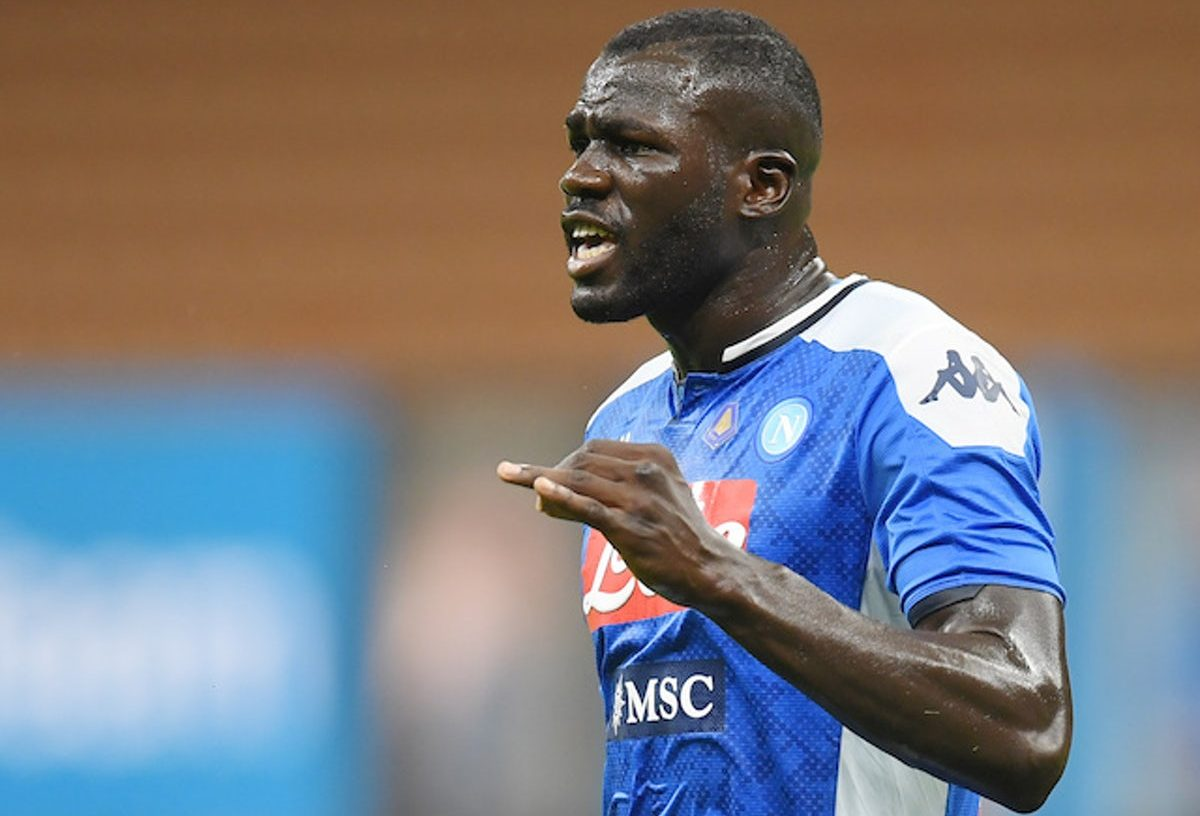 Kalidou Koulibaly is heavily linked with a move to Man City