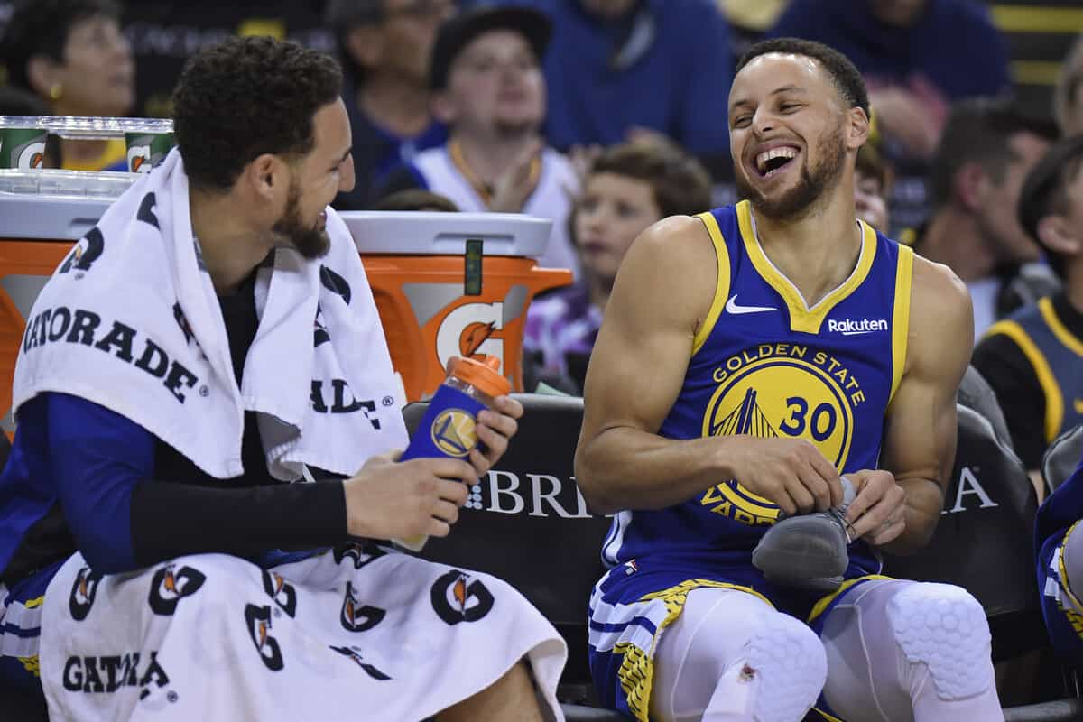 Klay Thompson's father gives hugely positive update on Warriors star