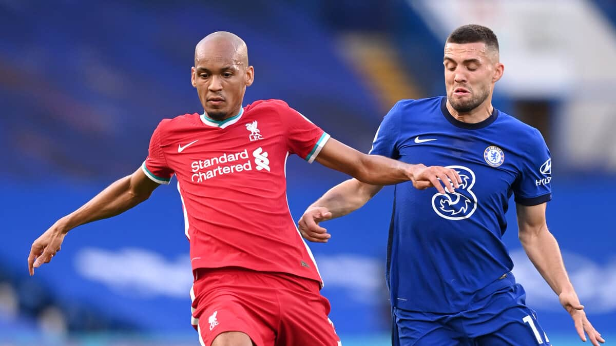 Fabinho hailed for his display against Chelsea