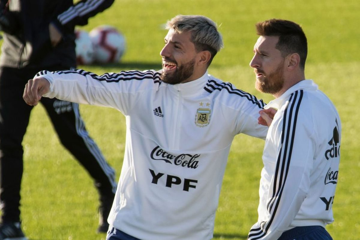 Sergio Aguero makes weird claim about relationship with Lionel Messi
