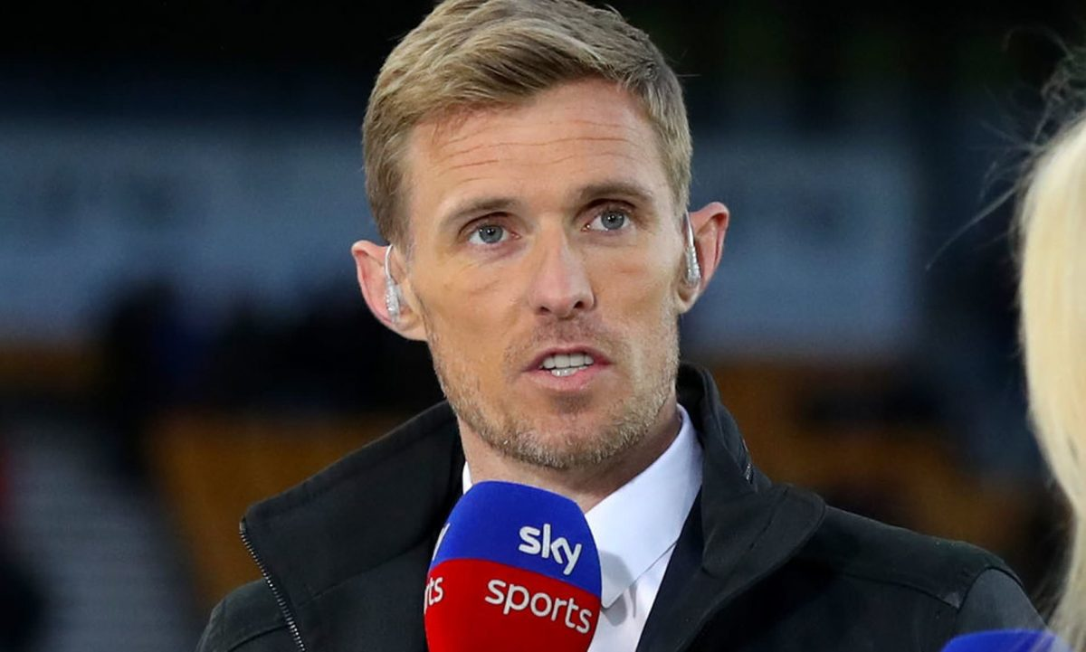 Sky Sports pundit Darren Fletcher