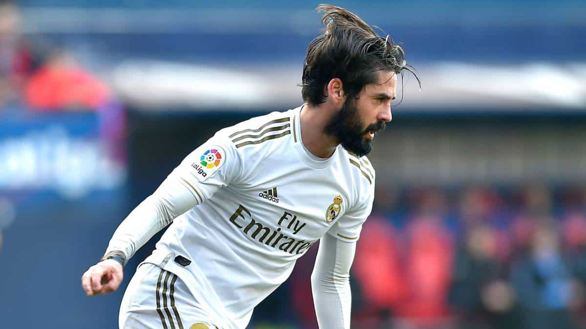Isco in action for Real Madrid