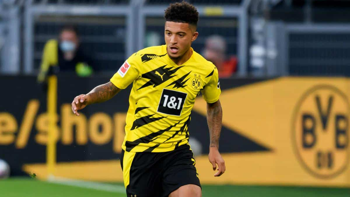 Jadon Sancho skips training with Dortmund