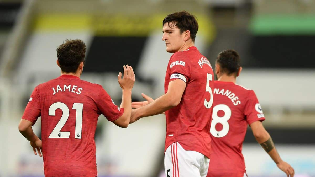 Harry Maguire reacts to being left out of Champions League squad against PSG