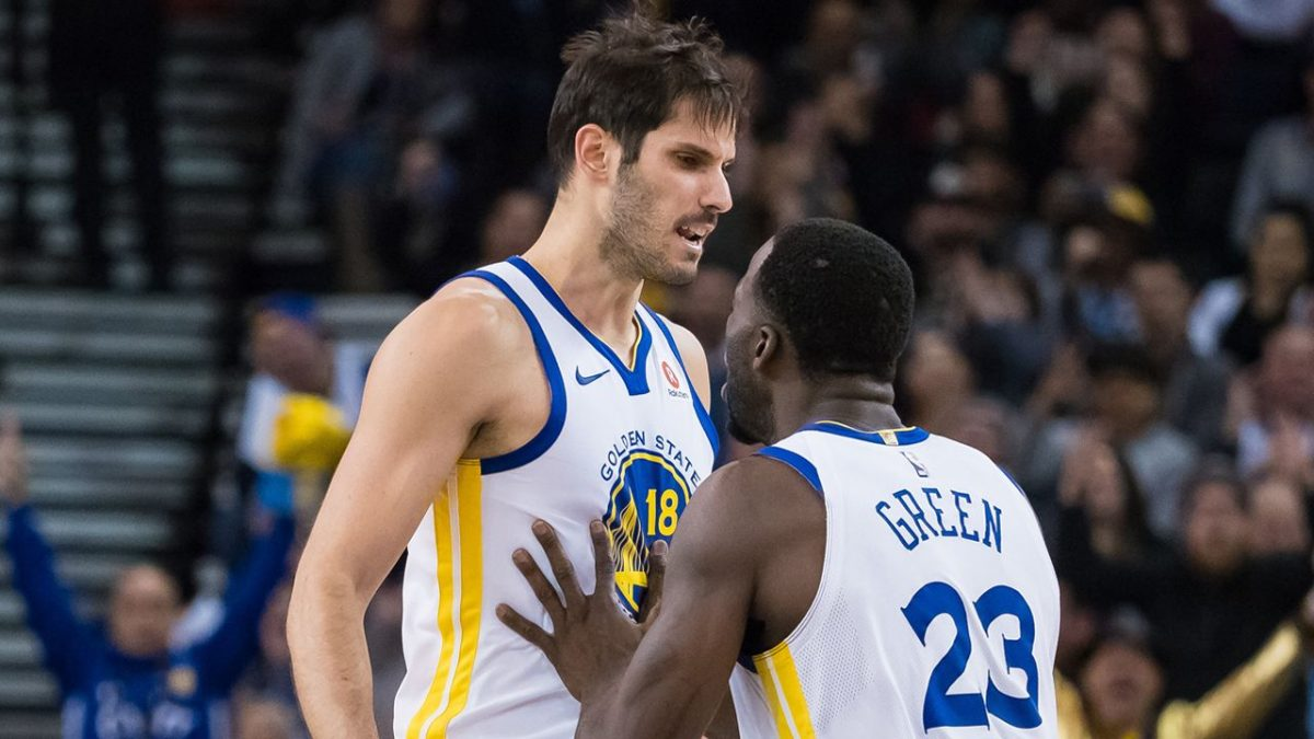 Ex-teammate recalls Warriors' Draymond Green shouting at him in their first encounter