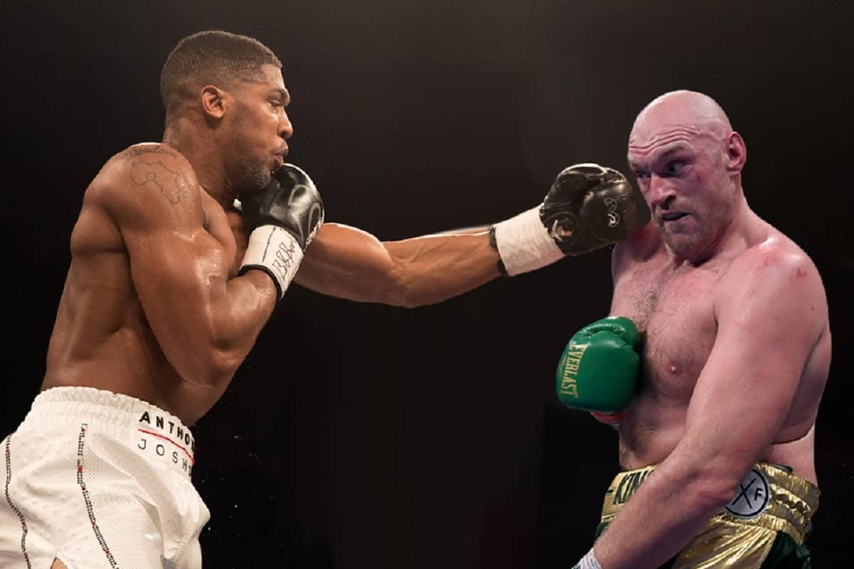 Tony Bellew reacts to Tyson Fury's recent claims about Anthony Joshua
