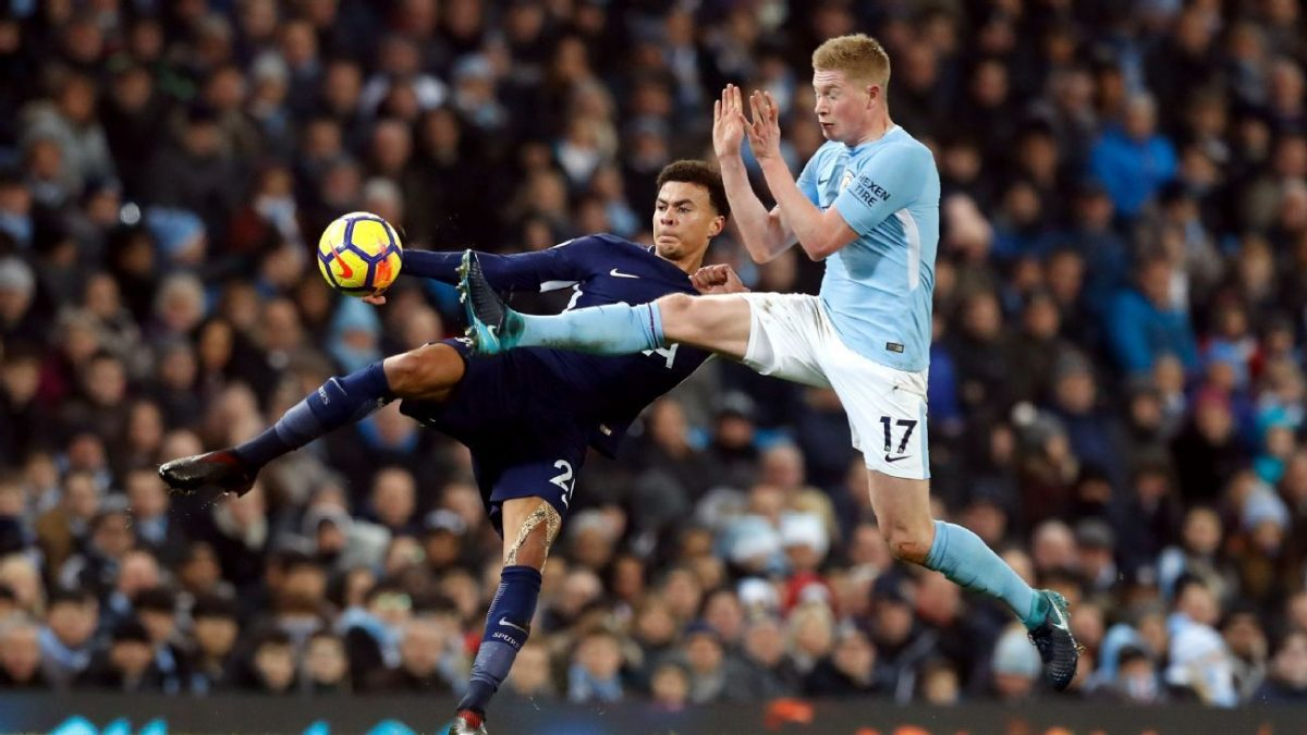 Dele Alli urged to learn from Kevin De Bruyne amid 'lazy' claims