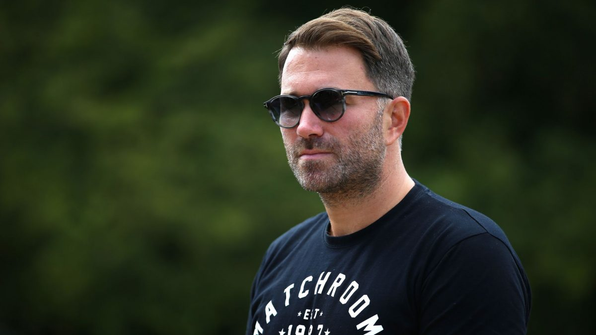 Eddie Hearn names top five heavyweights in the world, including Tyson Fury, Anthony Joshua