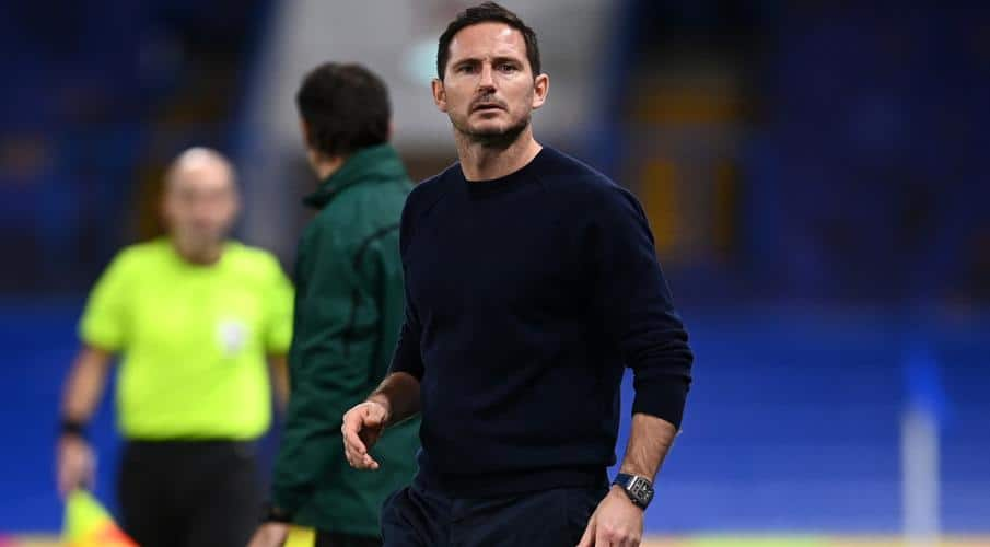 CHelsea head coach Frank Lampard during Premier League game