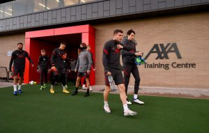 New Liverpool youngster spotted in training and he's huge
