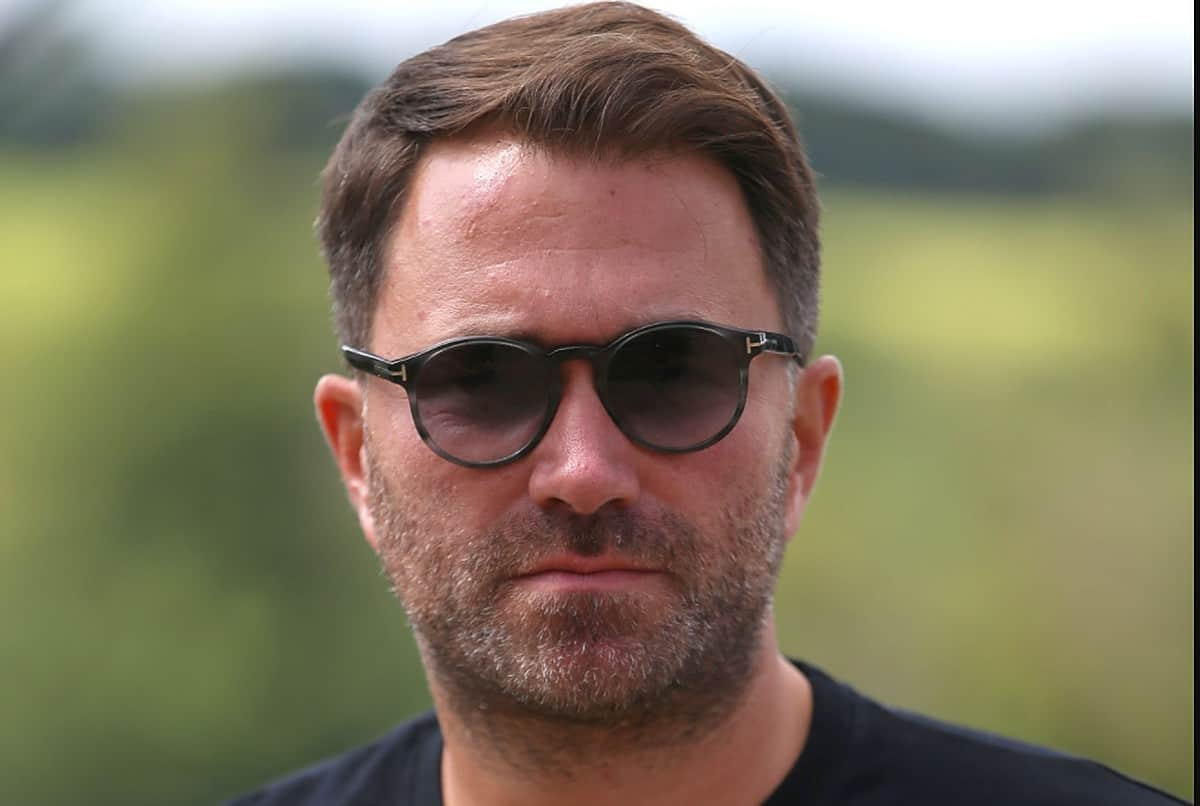 Eddie Hearn, Managing Director of Matchroom
