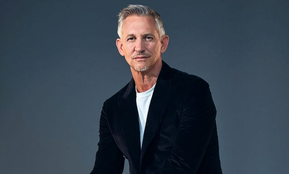Tv presenter and former professional footballer Gary Lineker is photographed for the Times magazine