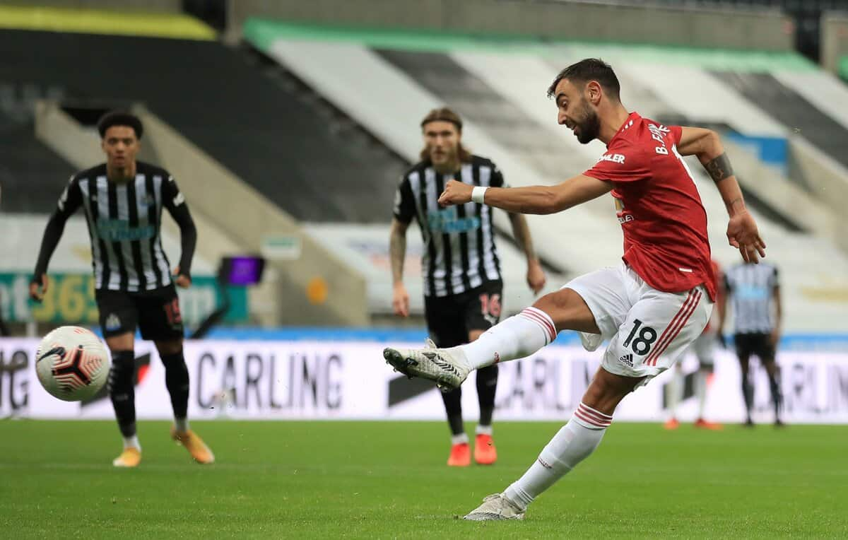 Bruno Fernandes criticised by his dad after missing Manchester United penalty
