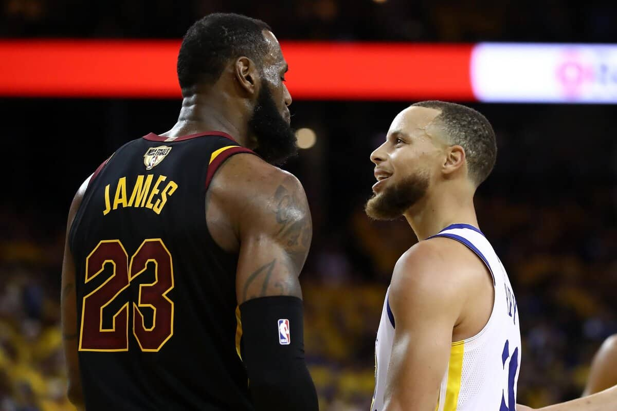 Stephen Curry throws a shade on LA Lakers and LeBron James with NBA title claim