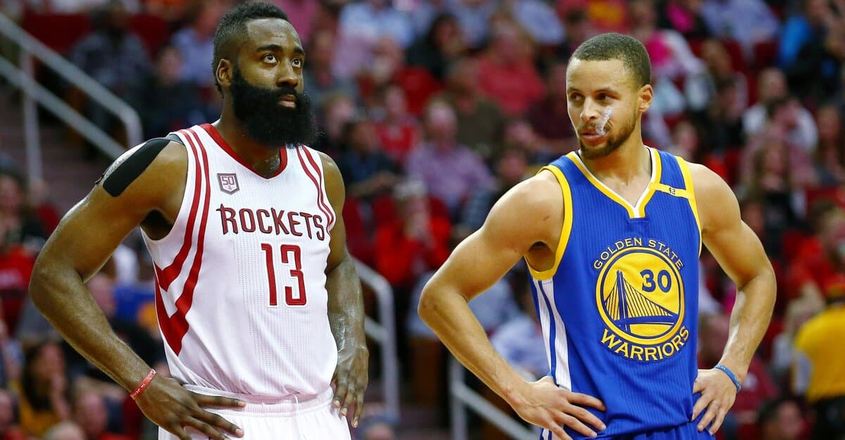 Stephen Curry secretly talking about James Harden goes viral
