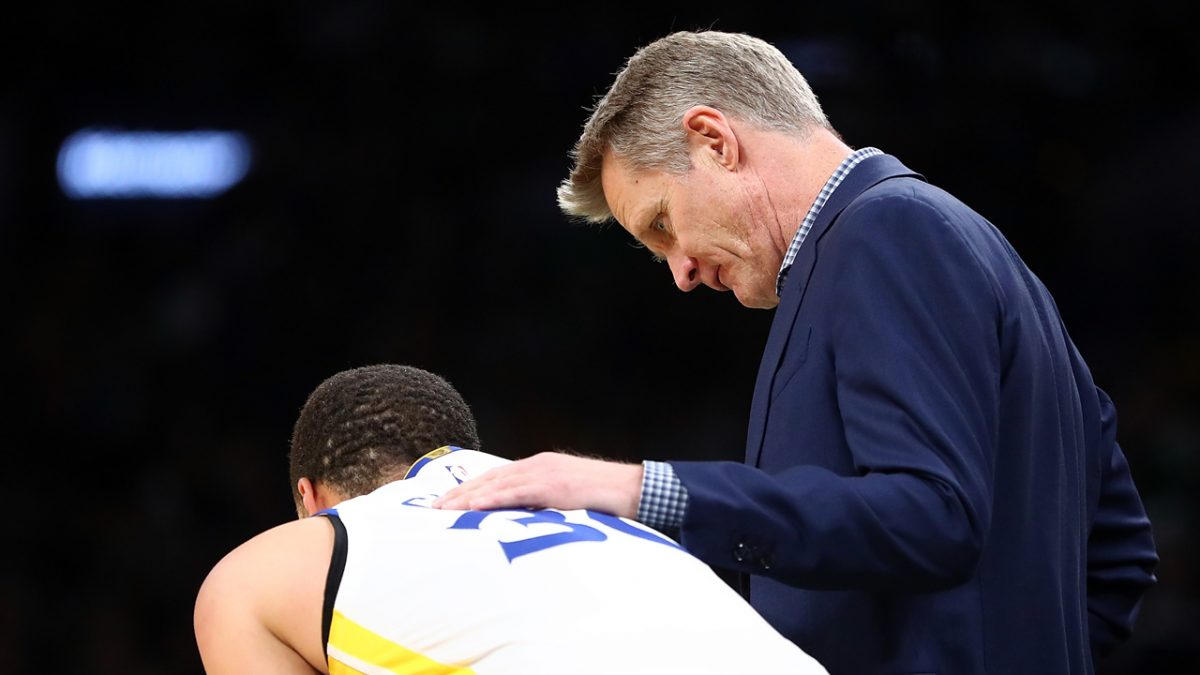 Warriors' coach Steve Kerr makes ultimate praise on Stephen Curry
