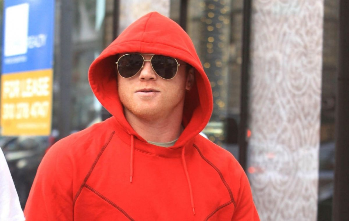 Canelo Alvarez is seen on December 14, 2019 in Los Angeles, California. (Photo by SMXRF/Star Max/GC Images)
