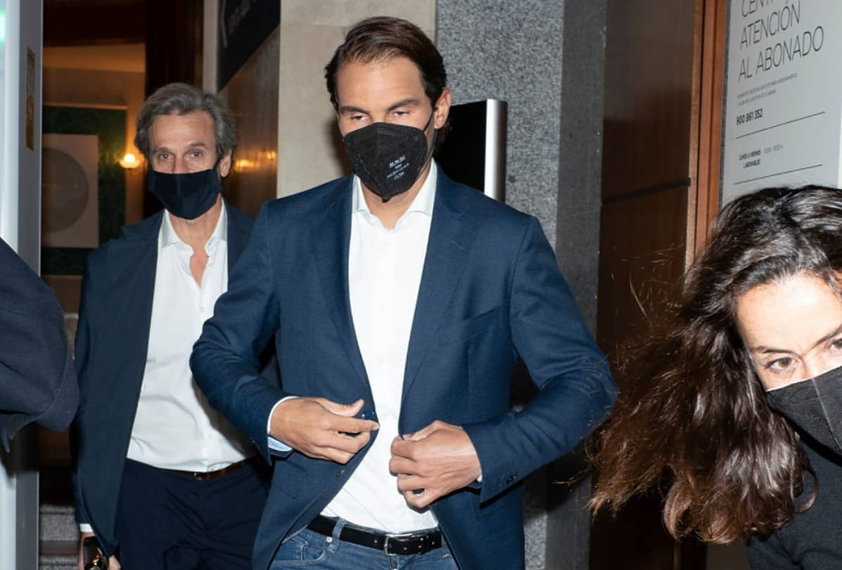 Rafa Nadal arrival at the As del Deporte awards during the 14th edition of the AS del Deporte Awards Gala