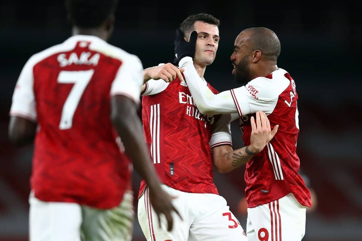 Arsenal beat Chelsea in the London derby