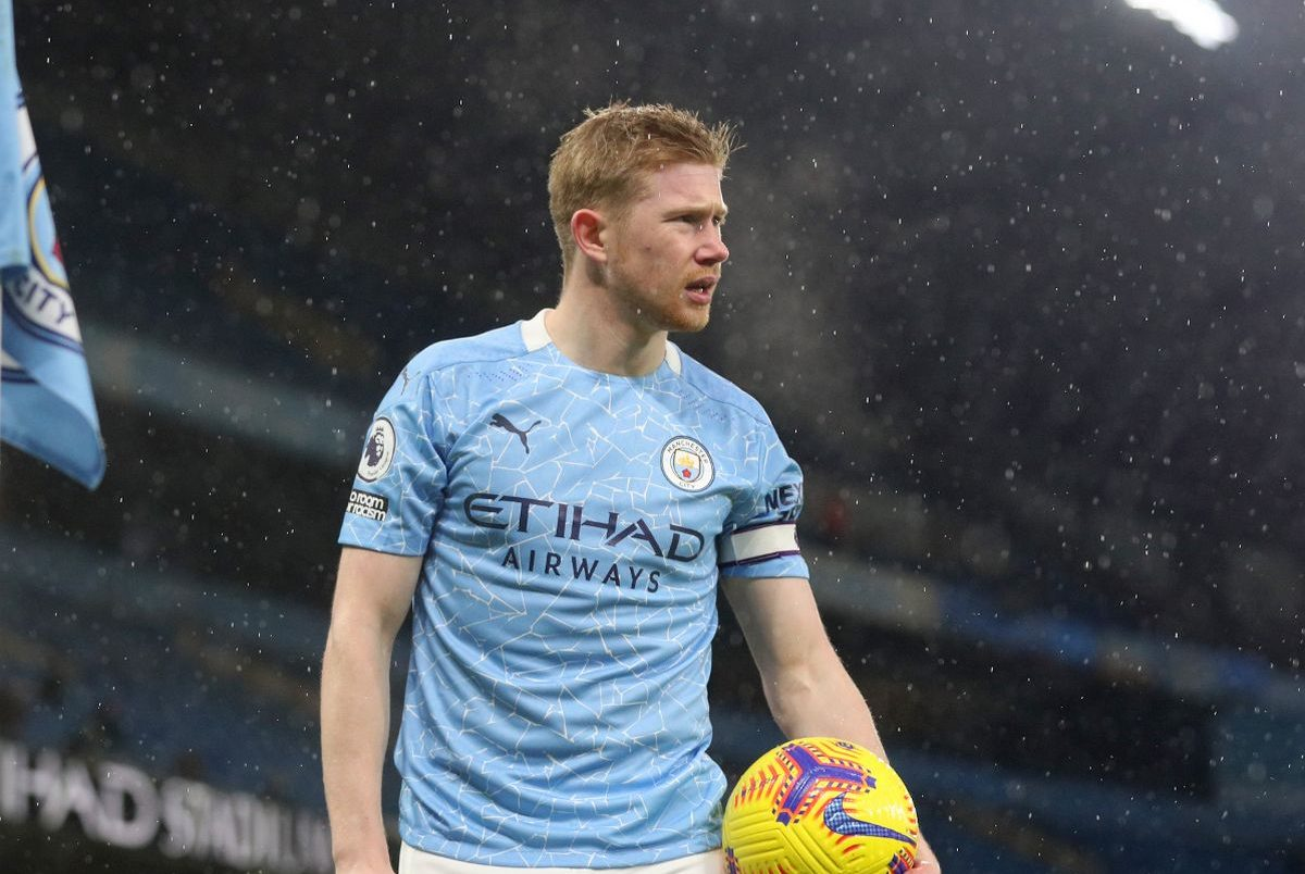 Manchester City's Kevin De Bruyne provides update on his injury