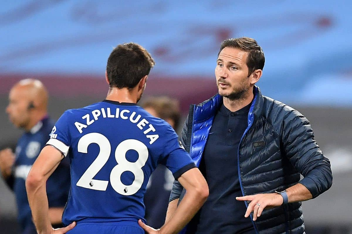 Chelsea's Cesar Azpilicueta admits Lampard tension and makes claim over Rudiger clashes