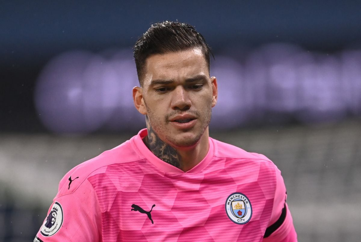 Manchester City's Ederson provides fitness update after positive Covid-19 test
