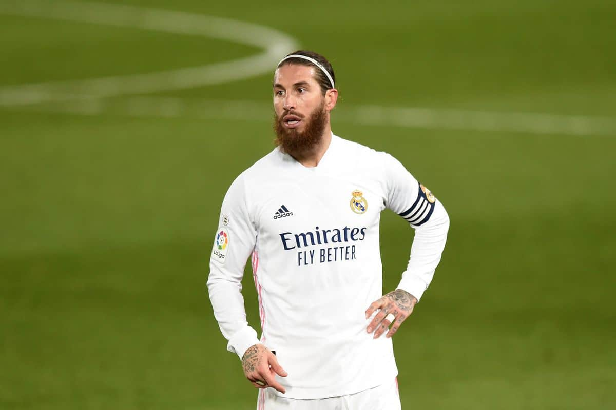 Manchester City want to sign Sergio Ramos on free transfer