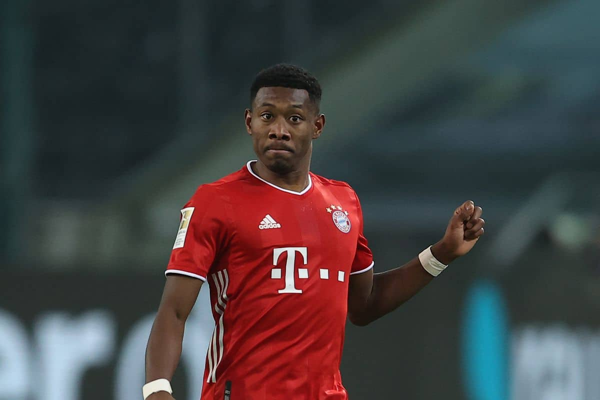 Liverpool make final transfer decision on David Alaba after holding talks before Thiago deal