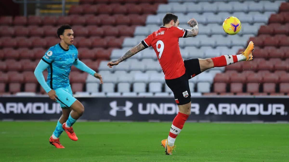 Southampton's Danny Ings surprised at Jurgen Klopp's decision in Liverpool loss