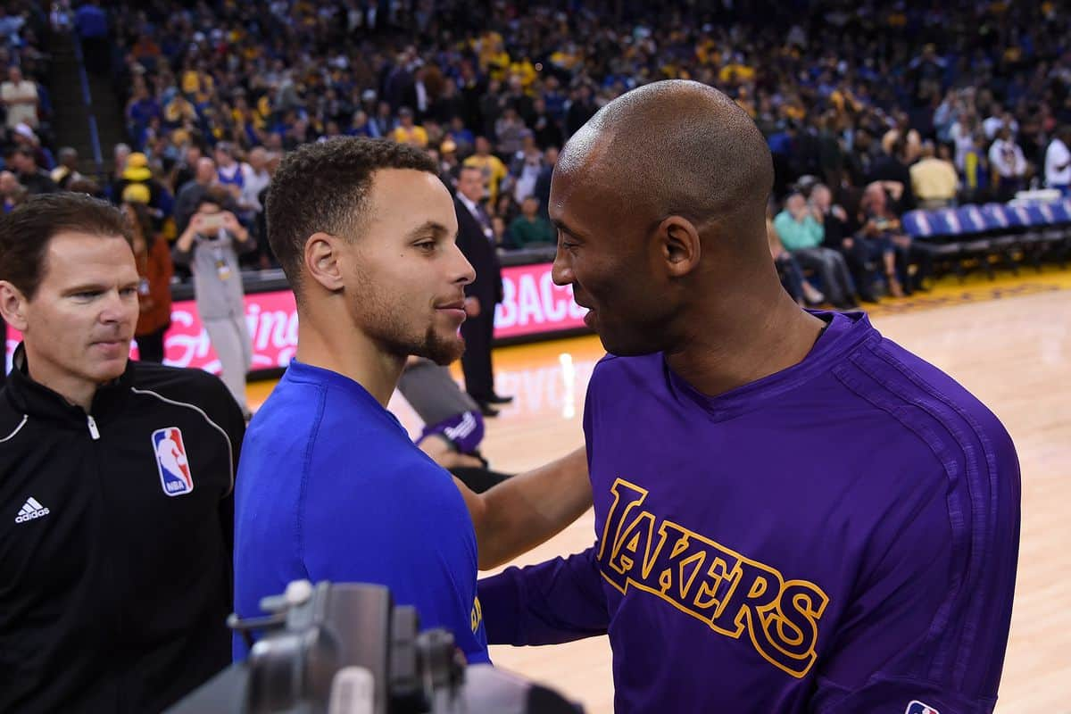 """Warriors' Stephen Curry honors Kobe and Gianna Bryant in a """"Girl Dad"""" way"""