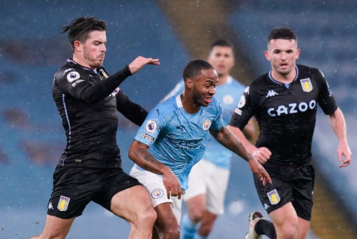 Jack Grealish sends message to Manchester City star Raheem Sterling as Aston Villa lose