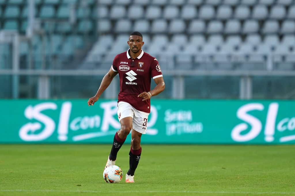 Gleison Bremer in action for Torino