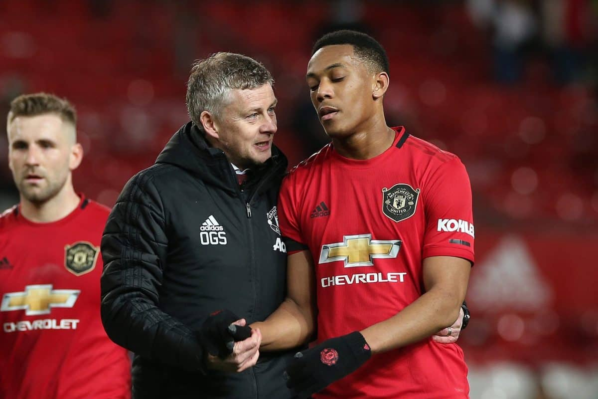 Ole Gunnar Solskjaer reveals private talks with Anthony Martial