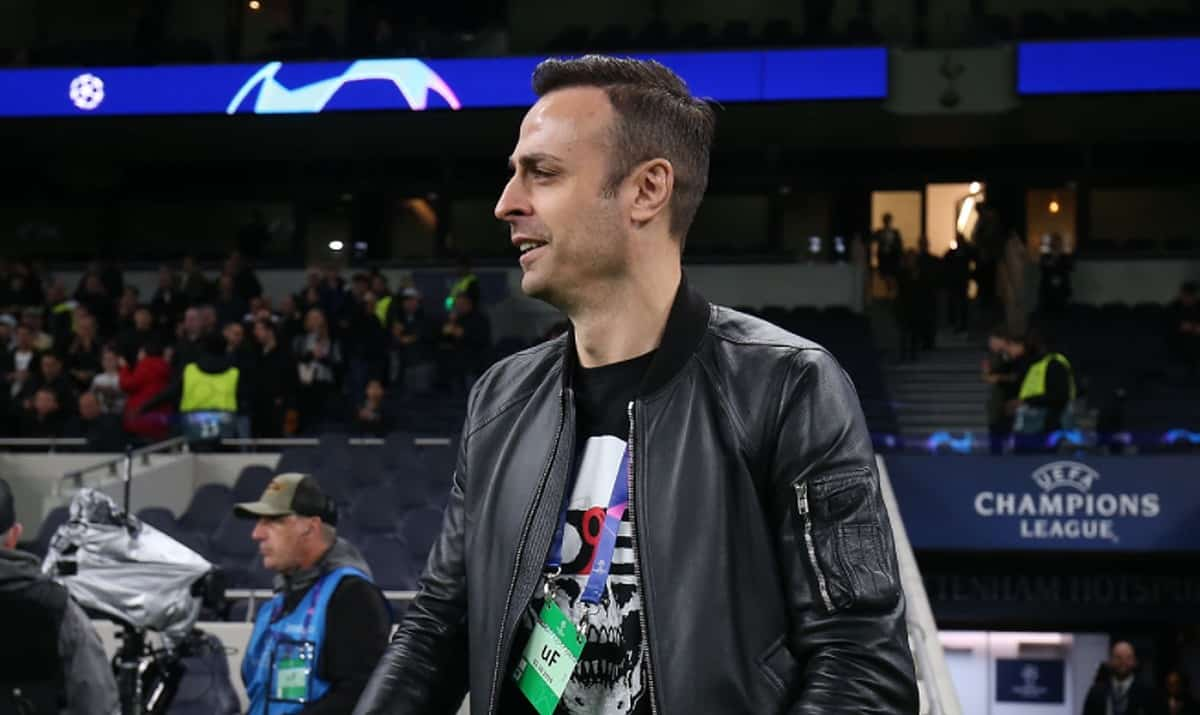 Former Tottenham Hotspur player Dimitar Berbatov during the UEFA Champions League group B match between Tottenham Hotspur and Bayern Muenchen at Tottenham Hotspur Stadium on October 01, 2019 in London, United Kingdom. (Photo by Tottenham Hotspur FC/Tottenham Hotspur FC via Getty Images)